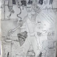 """Viktor Musi. Série """" A mes Amies."""" 1984 - 2011."""