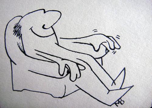 Viktor Musi. Caricatures 1984 - 1990.
